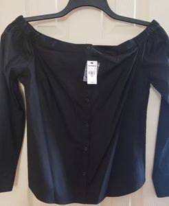 Black blouses size Medium